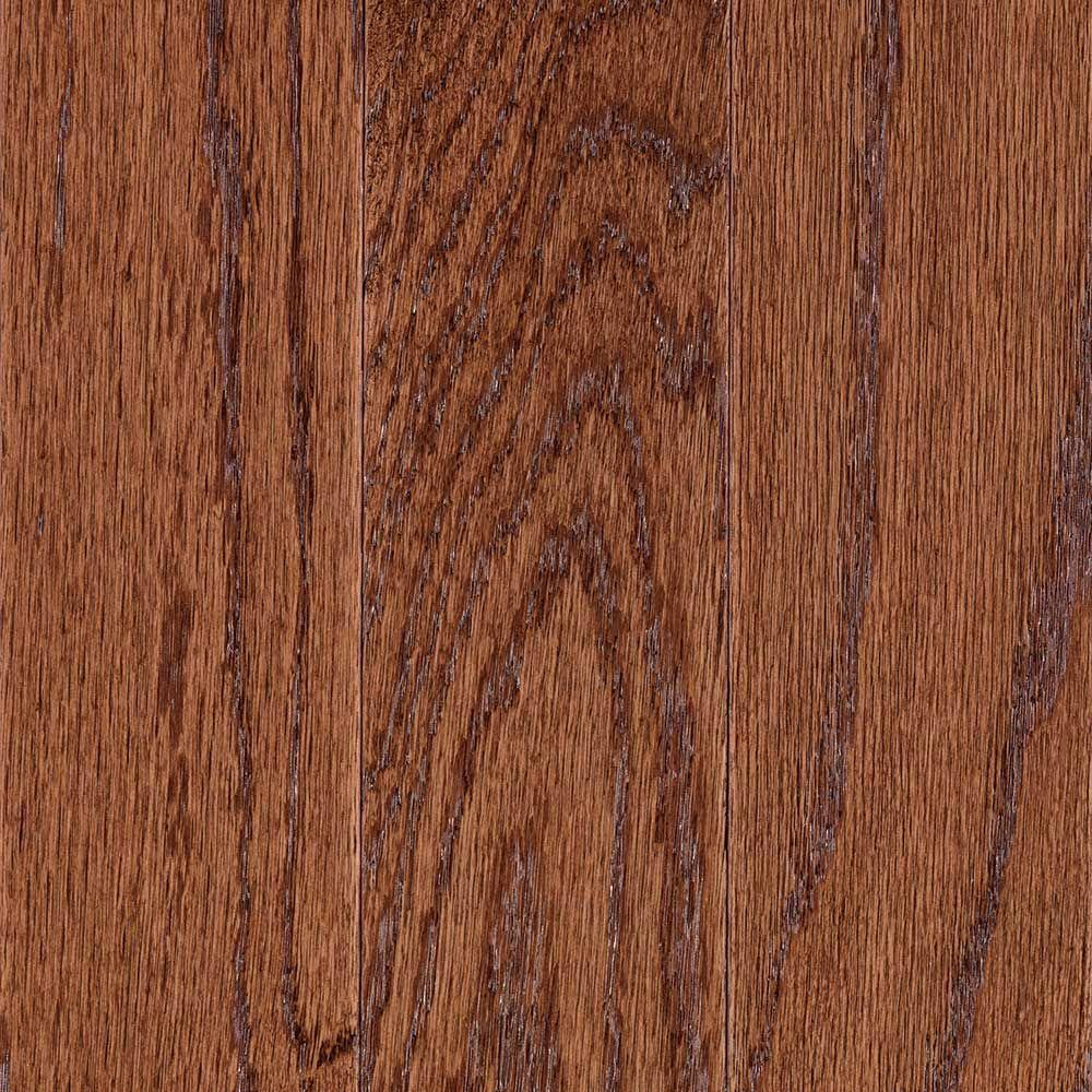 Mohawk Monument Gunstock Oak 3 8 In Thick X 5 In Wide X Random Length Engineered Hardwood Flooring 28 25 Sq Ft Case Hce09 50 The Home Depot