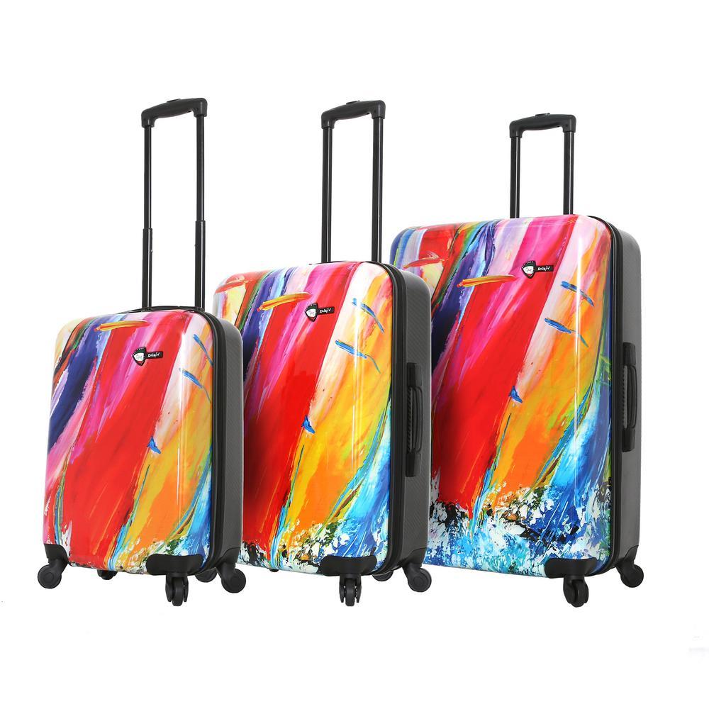 Duaiv 3-Piece Sails Spinner Luggage Set