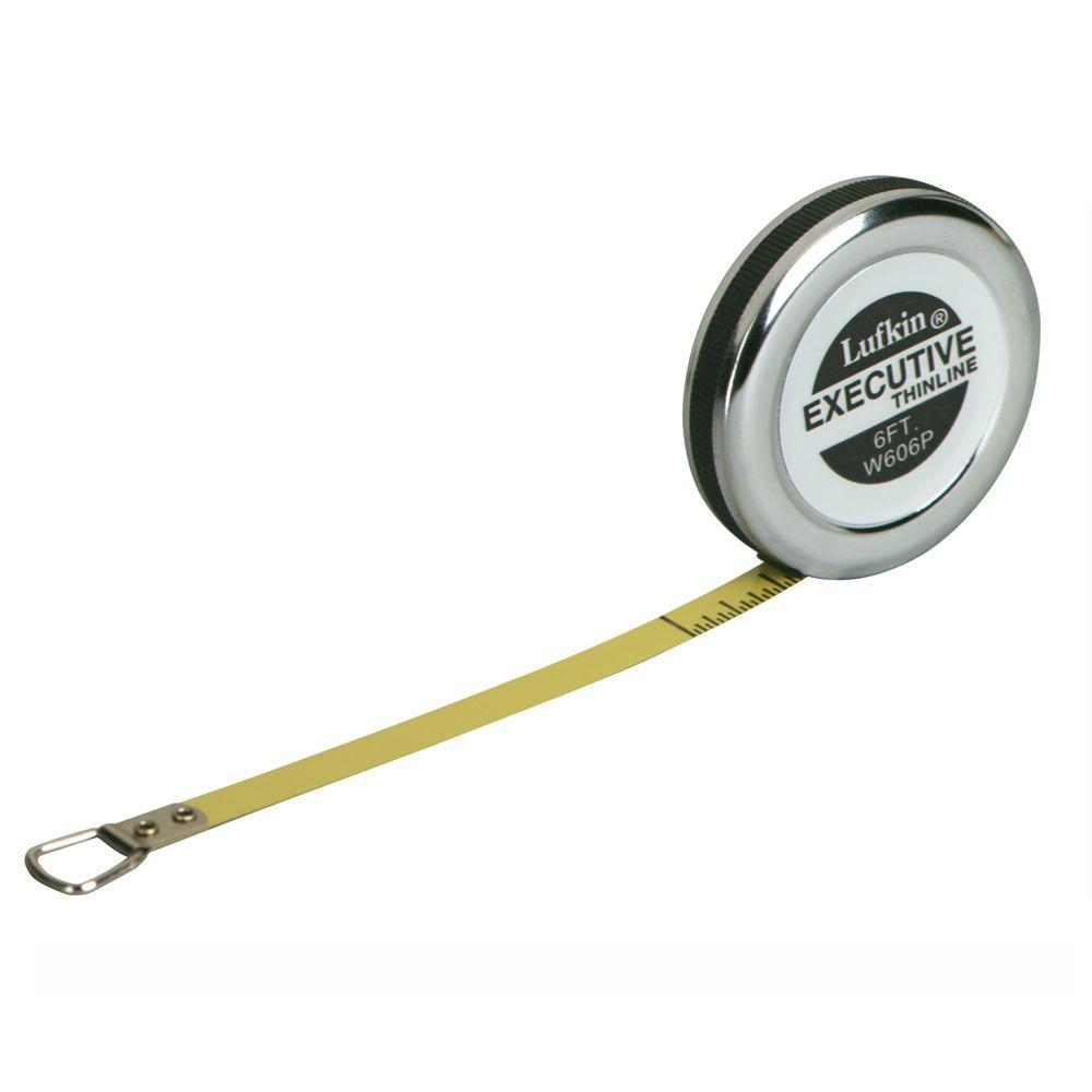 1/4 in. x 6 ft. Executive Diameter Pocket Tape Measure