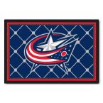 Columbus Blue Jackets 5 ft. x 8 ft. Area Rug