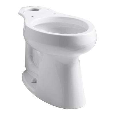 Highline Elongated Toilet Bowl Only in White