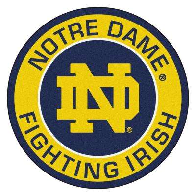 Ncaa Notre Dame Gold 2 Ft 3 In X