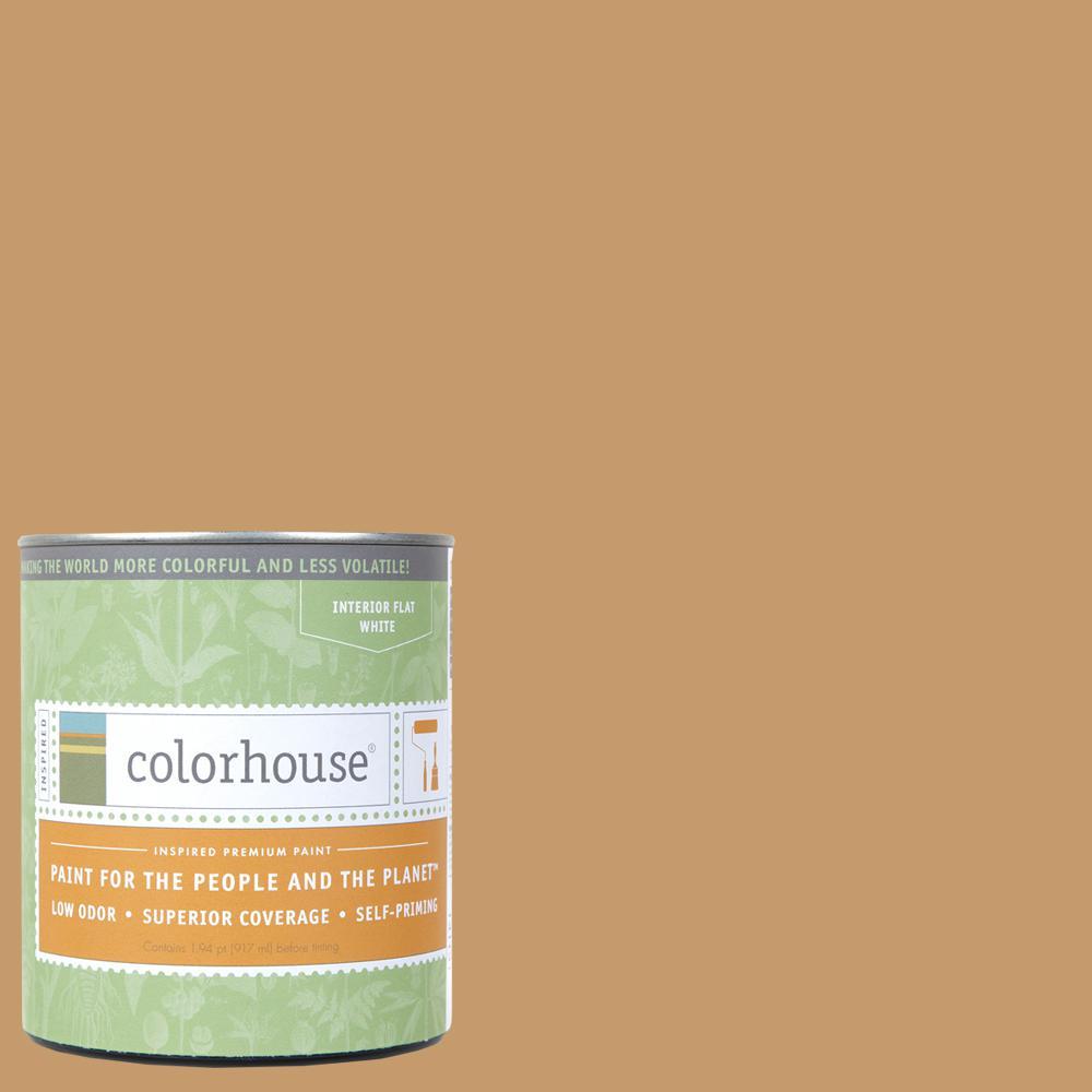 1 qt. Clay .01 Flat Interior Paint