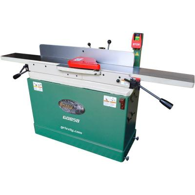 12 Amp 8 in. Parallelogram Corded Jointer with Helical Cutterhead and Mobile Base