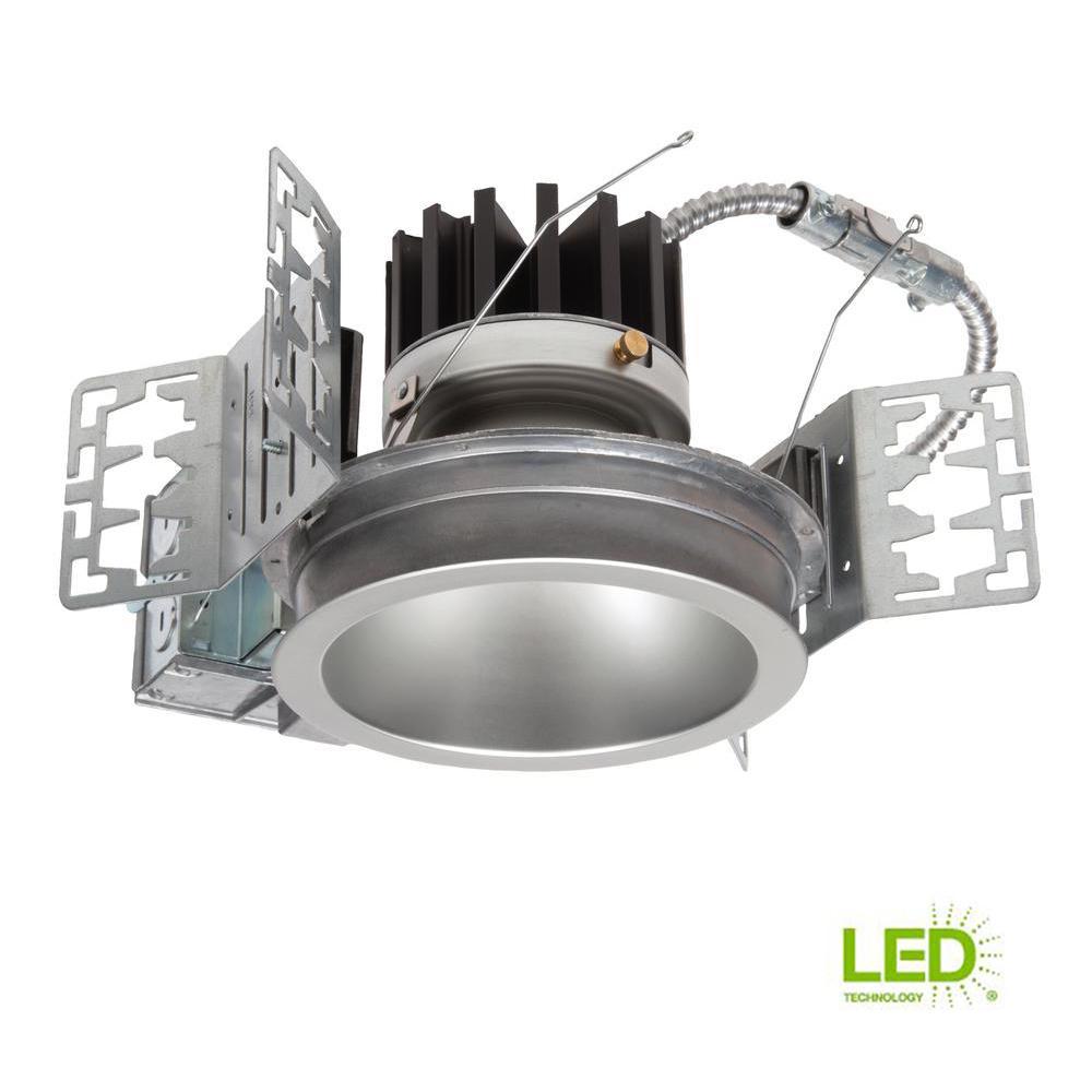 Portfolio LD4B 4 in. Integrated LED Recessed Ceiling Light Fixture ...