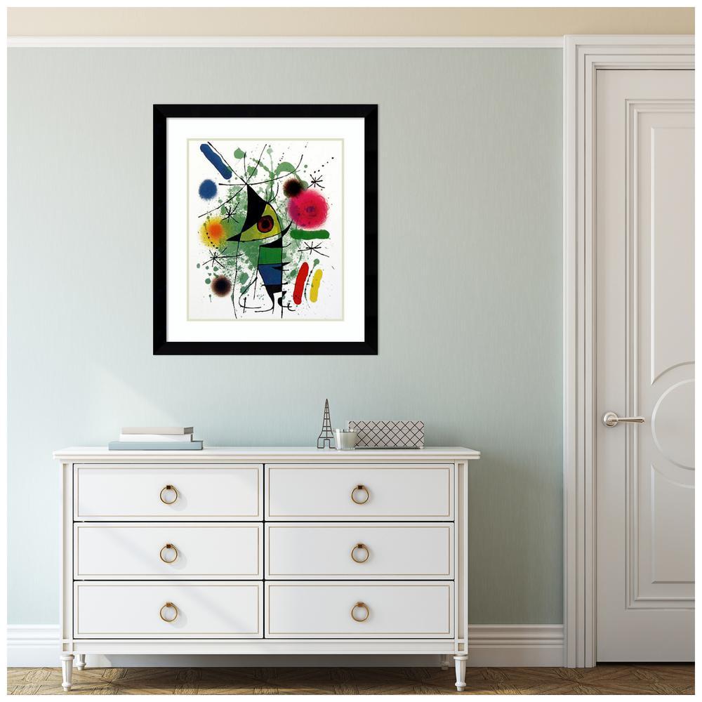 The Singing Fish by Joan Miro Framed Print Wall Art