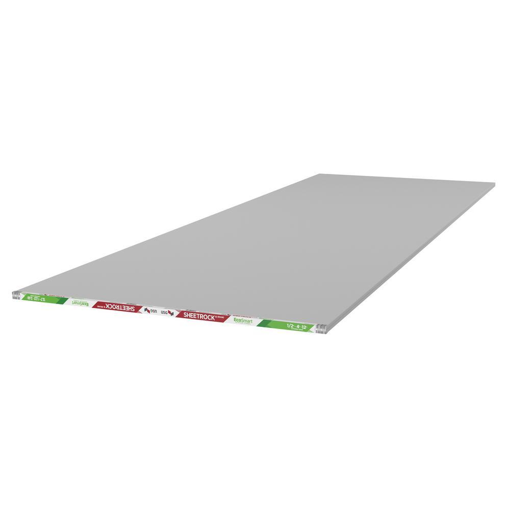 EcoSmart 1/2 in. x 4 ft. x 12 ft. Gypsum Board