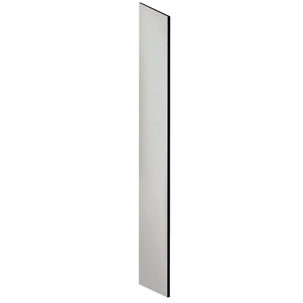 Designer Side Panel with Sloping Hood for 18 in. Deep Open