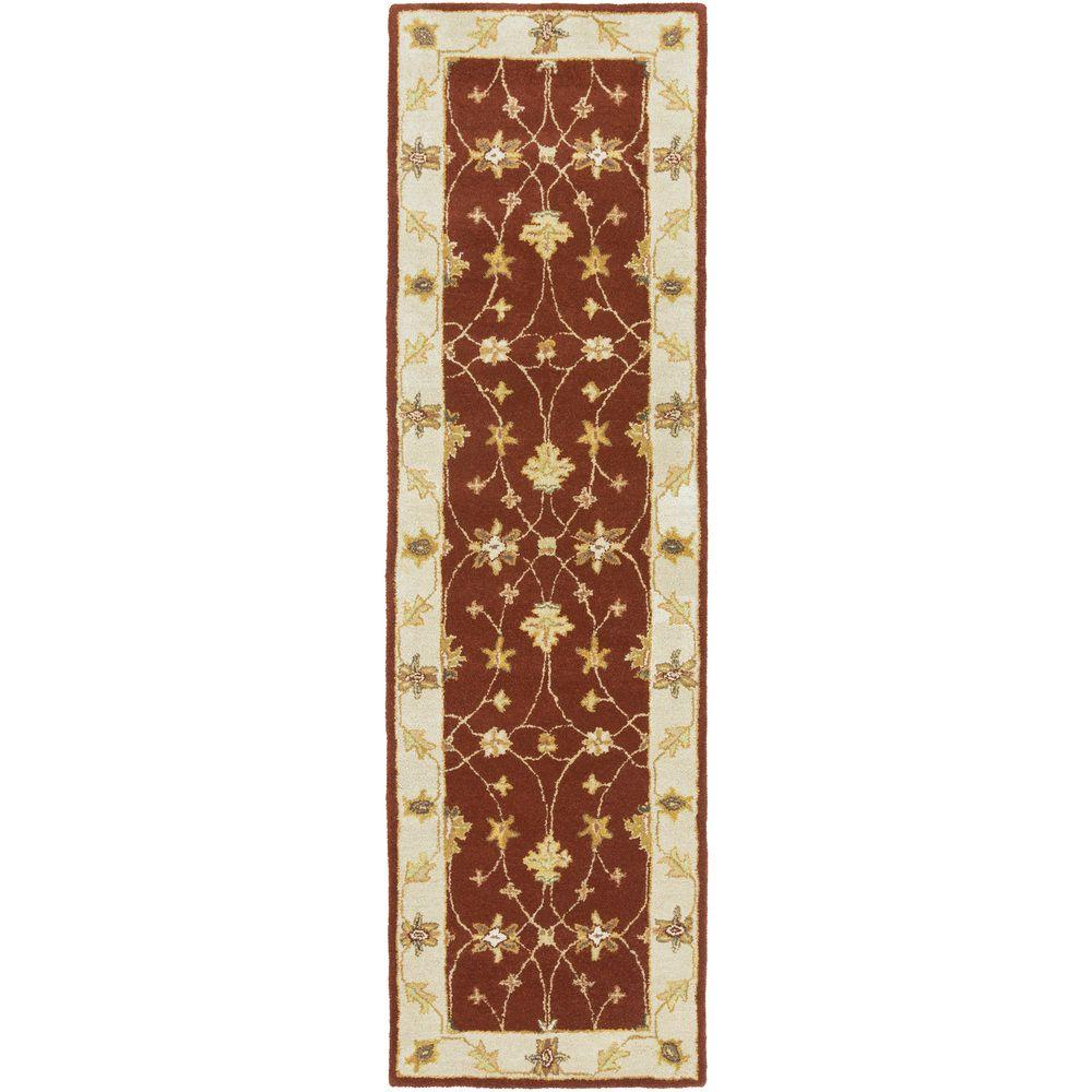 Middleton Hattie Burgundy 2 ft. 3 in. x 12 ft. Indoor