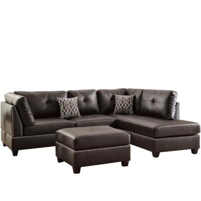 Faux Leather - Sectionals - Living Room Furniture - The Home ...