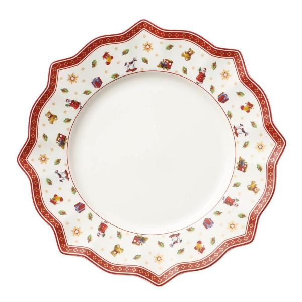 Toy's Delight 11.5 in. White Dinner Plate