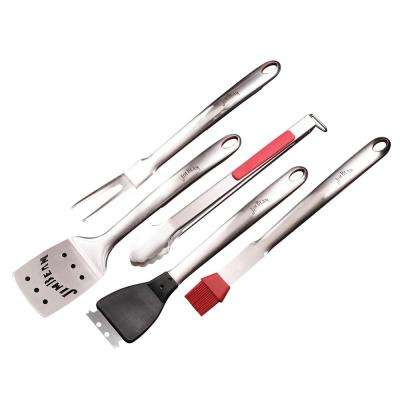 5-Piece BBQ Set with Soft Grip Handle