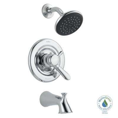 Lahara Single-Handle 1-Spray Tub and Shower Faucet in Chrome (Valve Included)