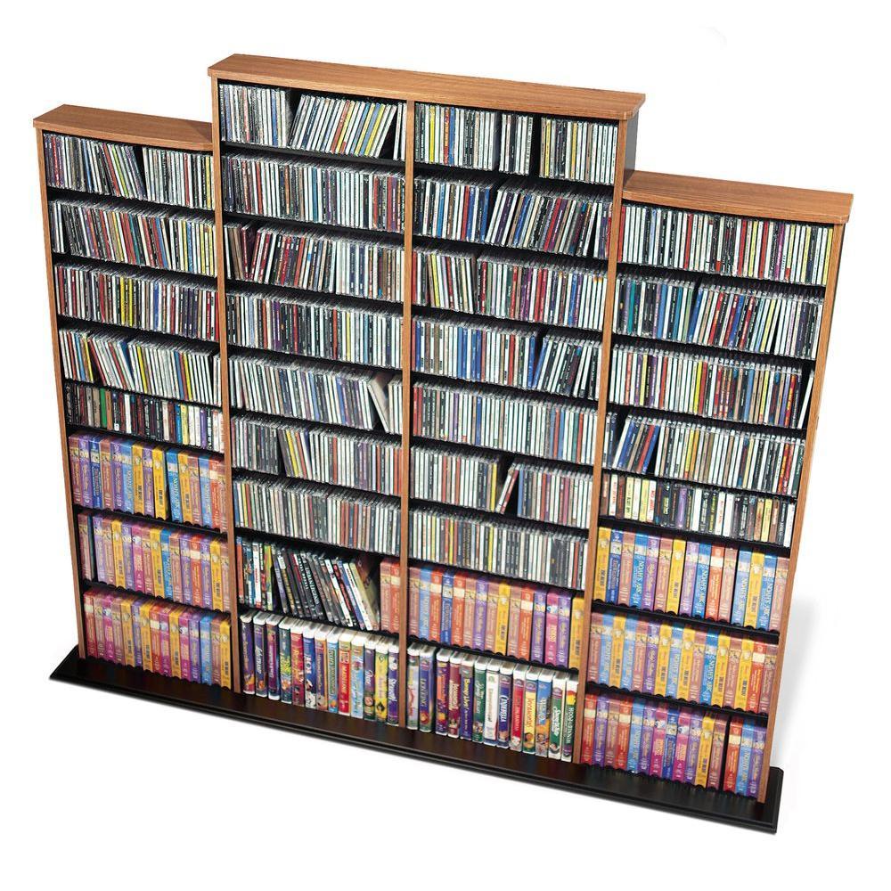 Prepac Oak Media Storage