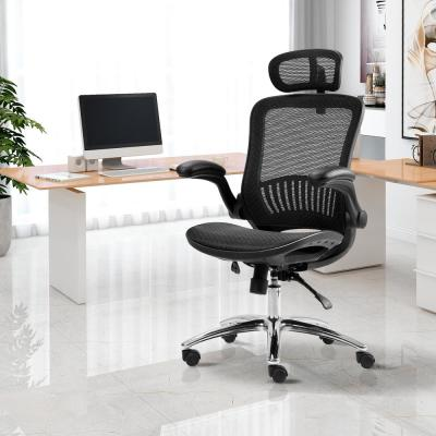 Black Ergonomic Adjustable Mesh Home Office Chair