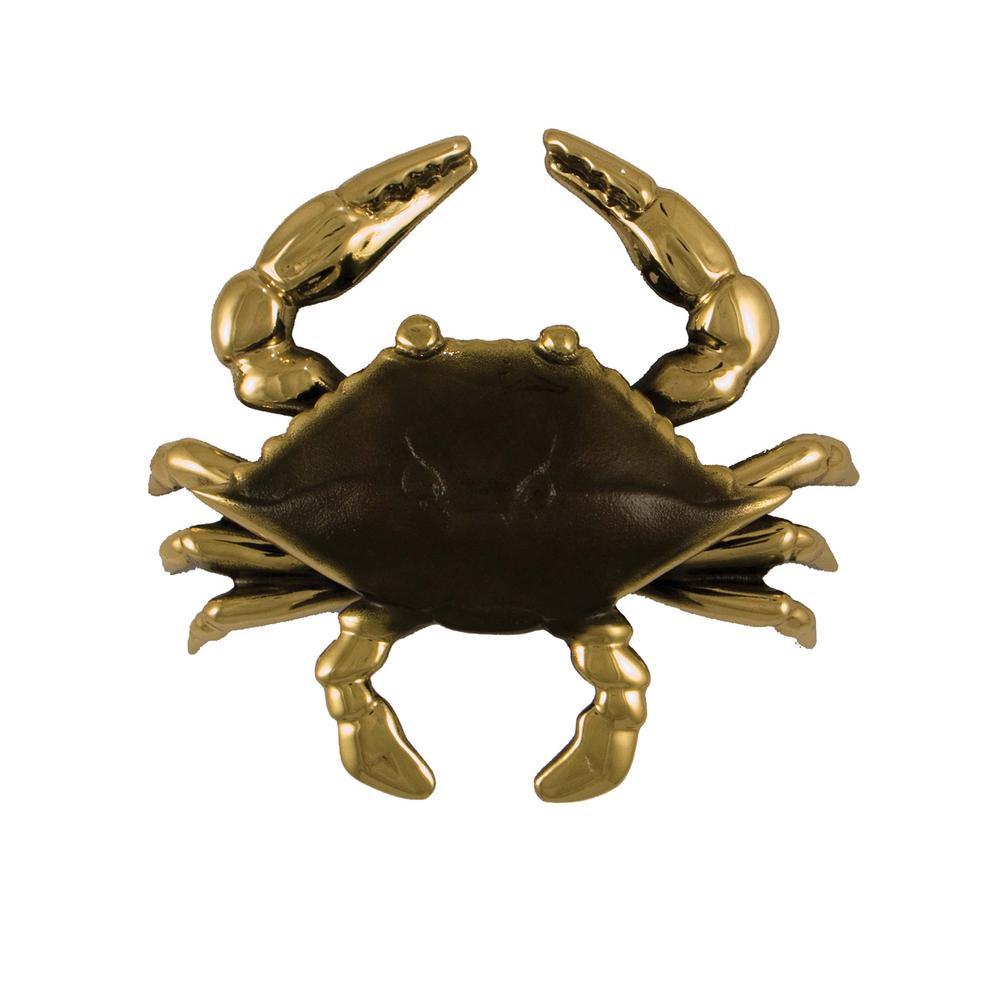 Michael Healy Brass Crab Door Knocker