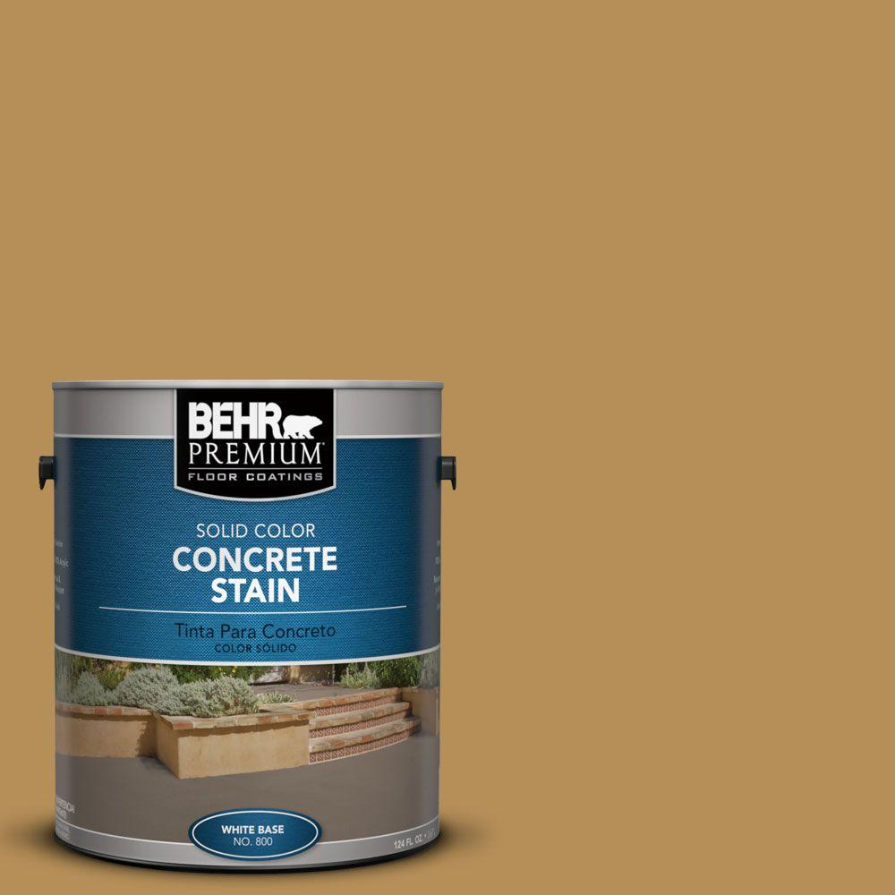 BEHR Premium 1 gal. #PFC-30 Clay Terrace Solid Color Concrete Stain
