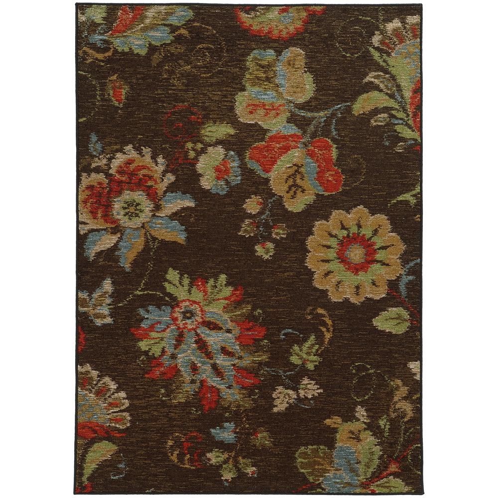 Home Decorators Collection Elmore Espresso 5 Ft X 7 Ft Area Rug