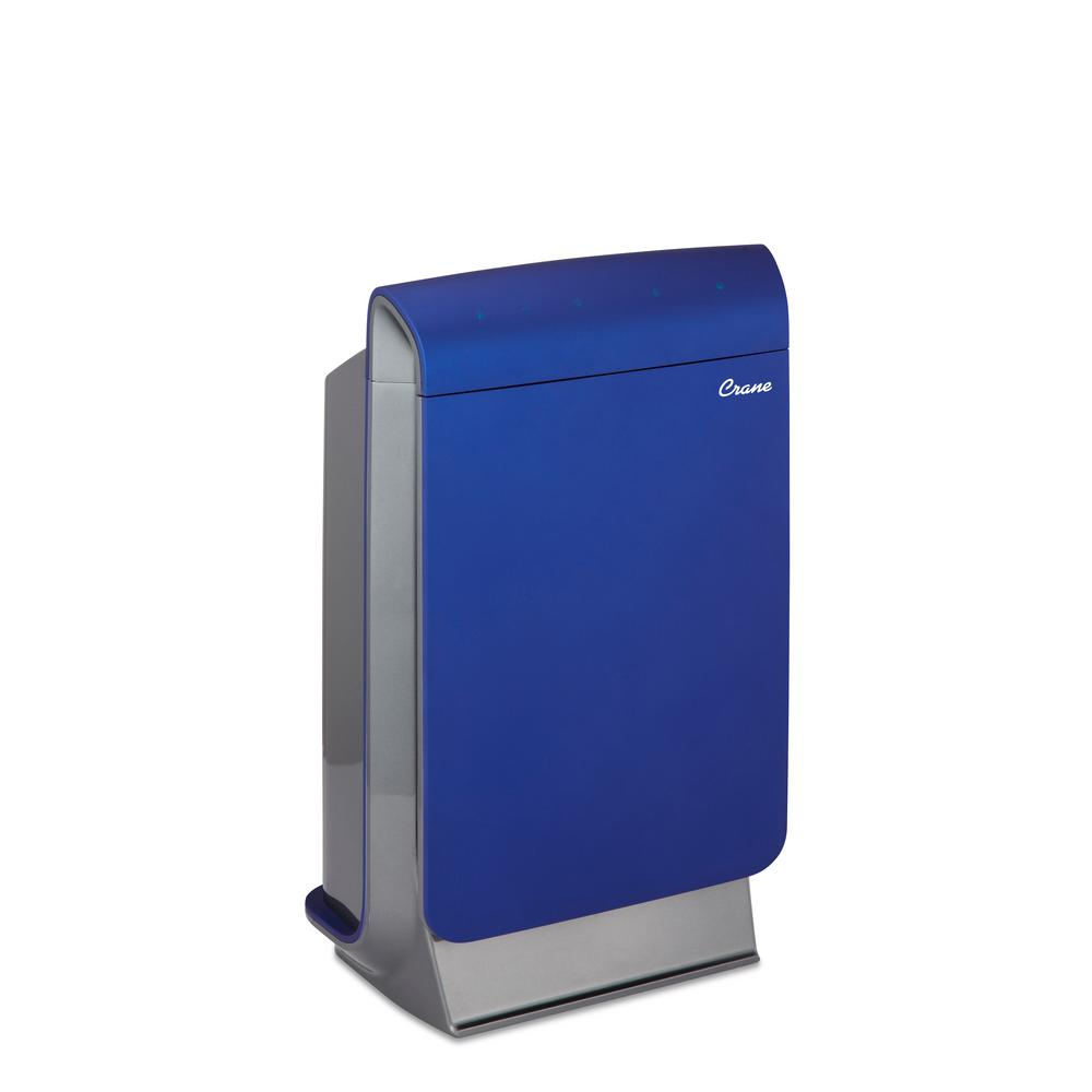 Crane Smart Air Purifier in Blue Crane Smart Air Purifier in Blue