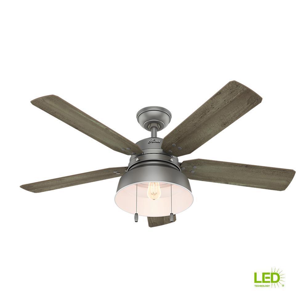 Hampton Bay Windward Light Bulb: Home Decorators Collection Windward IV 52 In. LED Indoor