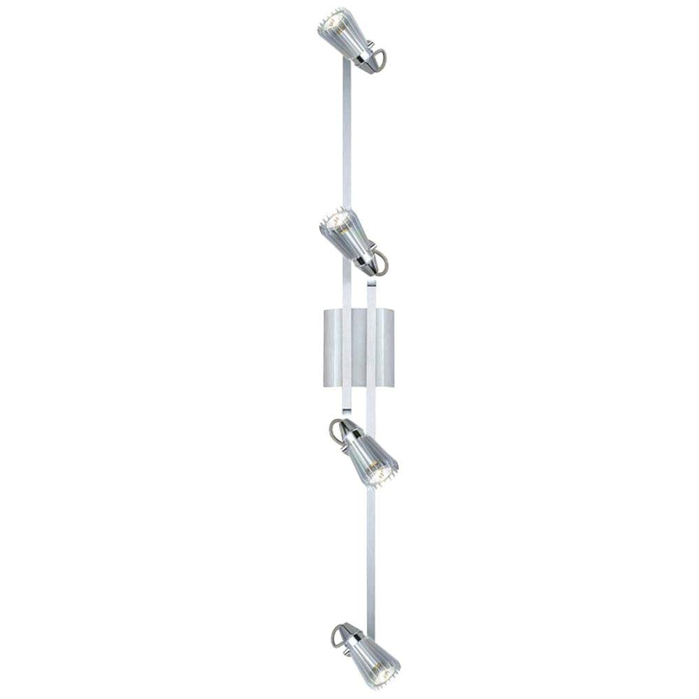 Eglo Calvi 4-Light Chrome Track Light