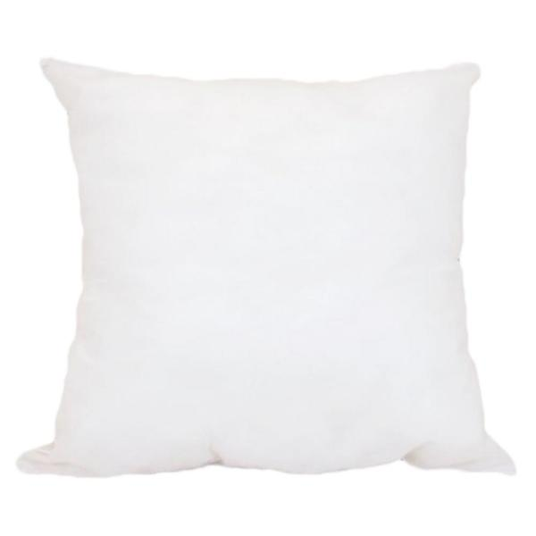 A1HC Sterilized with Non-Woven Fabric White Extra Fill Hypoallergenic Poly Fill  14 in. x 14 in. Pillow Insert(Set of 2)