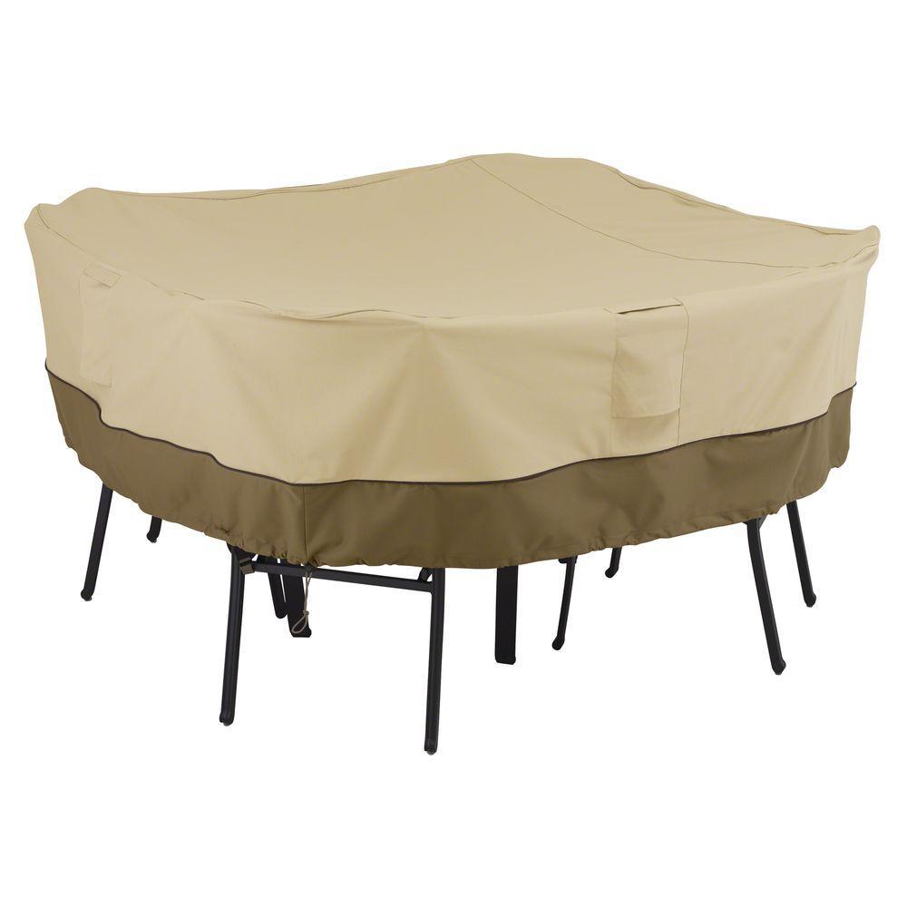 Classic Accessories Veranda Medium Square Patio Table And Chair Set