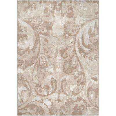 Eldoret Beige 7 ft. 10 in. x 10 ft. Area Rug
