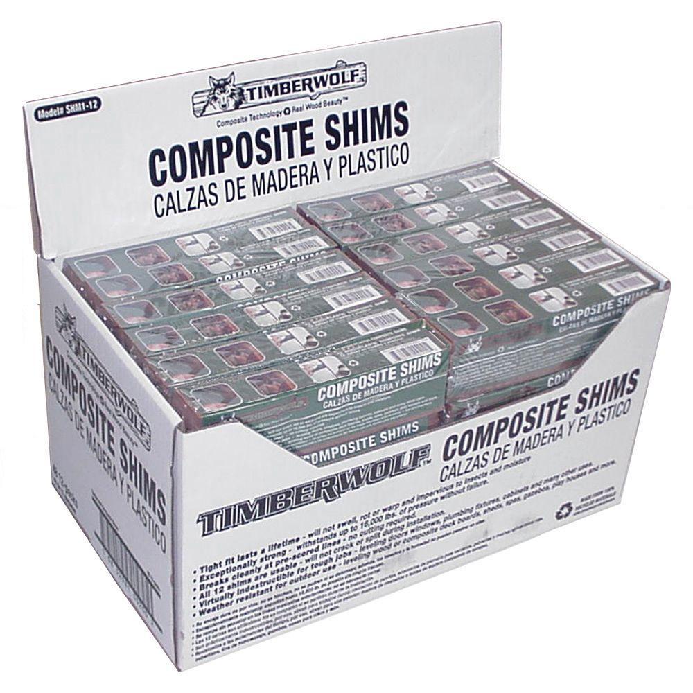 8 in  Composite Shim (Bundle of 12)