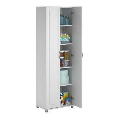 Trailwinds White Storage Cabinet