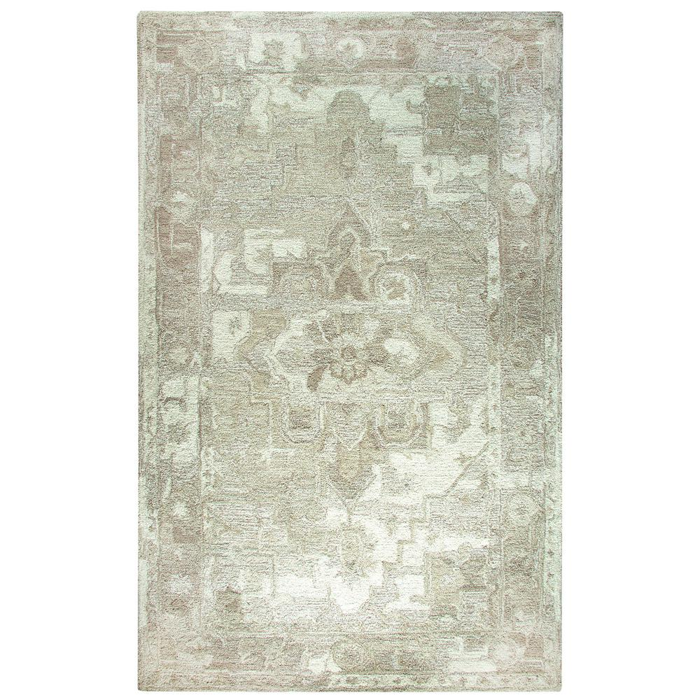 Dynamic Rugs Avalon Taupe Ivory 8 Ft X 11 Indoor Area Rug