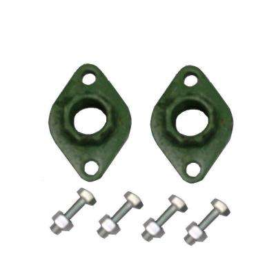 1-1/2 in. Cast Iron Pump Flanges (2-Pack)