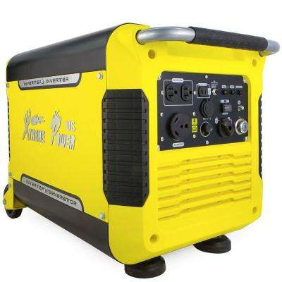 3000-Watt Gas Powered Digital Inverter Powered Generator and 5-Volt USB