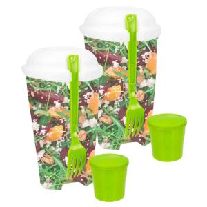 Home Basics Salad To-Go Container (2-Pack) by Home Basics