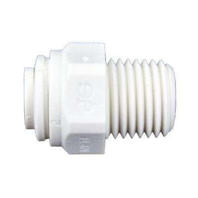 1/4 in. O.D. x 1/4 in. NPTF Polypropylene Push-to-Connect Male Connector