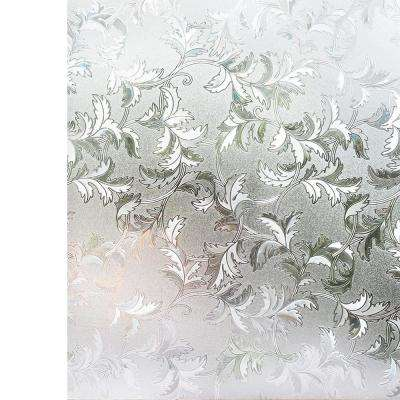 35.4 in. x 78.7 in. Decorative and Privacy 3D Window Film