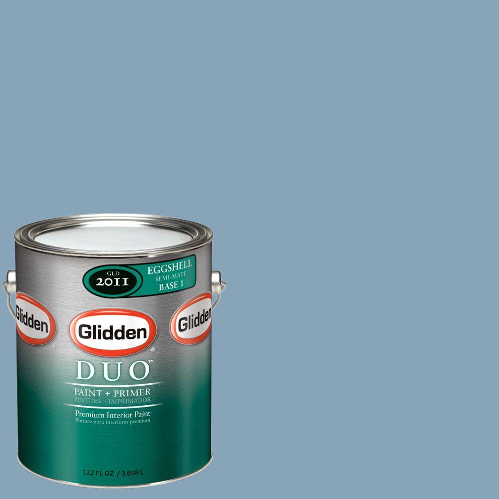 Glidden DUO Martha Stewart Living 1-gal. #MSL159-01E Myrtle Blossom Eggshell Interior Paint with Primer-DISCONTINUED