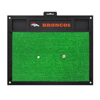 NFL Denver Broncos 17 in. x 20 in. Golf Hitting Mat