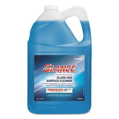 Powerized Pro 1 Gal. Glass and Multi-Surface Cleaner Glance Professional Glass Surface Cleaner (Pack-4)