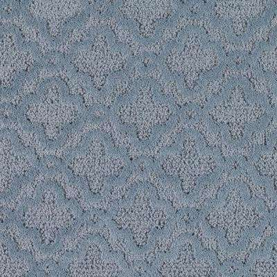 Carpet Sample - Sharnali - Color Waterfront Pattern 8 in. x 8 in.