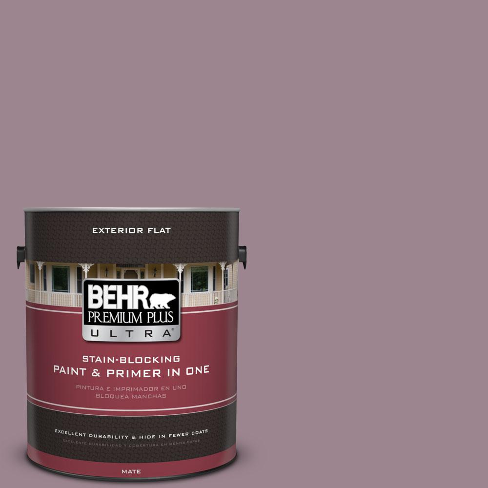 1-Gal. No.PPU17-14 Dream Sunset Flat Exterior Paint
