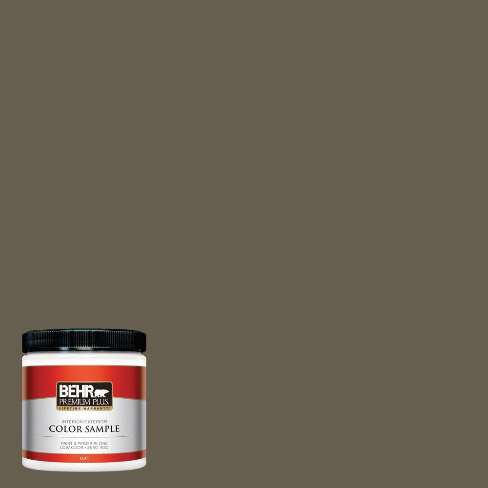 BEHR Premium Plus 8 oz. #N320-7 Primitive Interior/Exterior Paint Sample