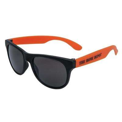 Classic UV400 Orange Sunglasses