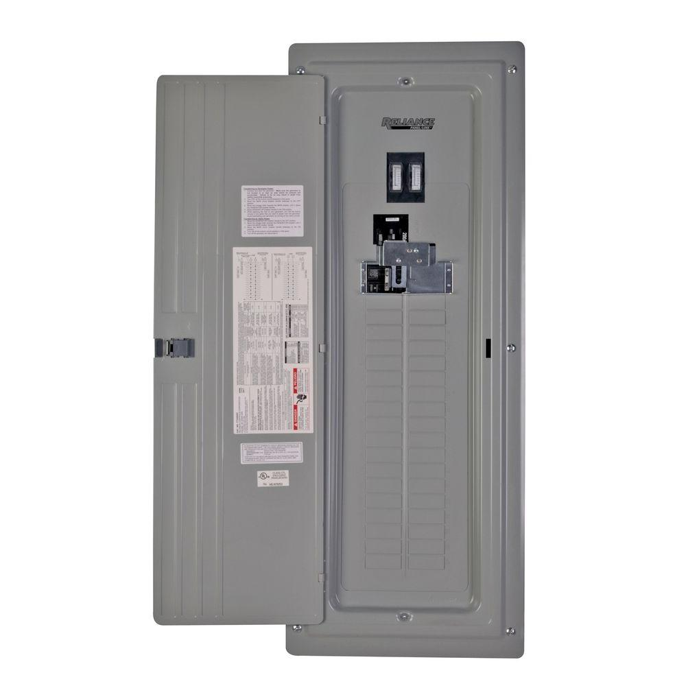 Square D Manual Transfer Switch Wiring Diagram : Reliance controls amp generator ready loadcenter with