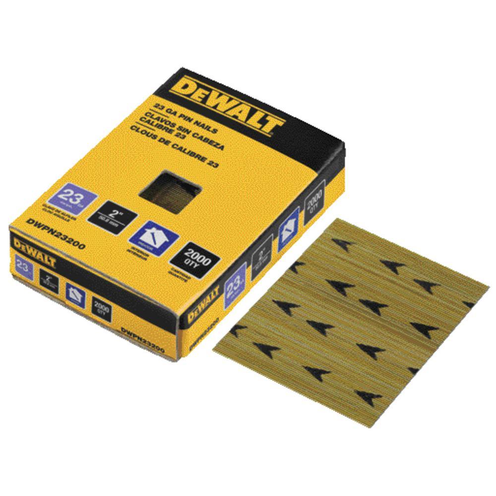 DEWALT 2 in  x 23-Gauge Pin Nail