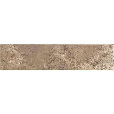 Santa Barbara Pacific Sand 3 in. x 12 in. Ceramic Bullnose Floor and Wall Tile