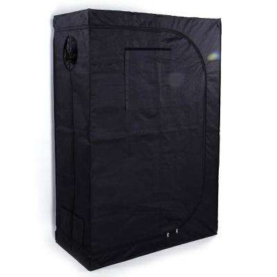4 ft. x 2 ft. Grow Tent with Window Black