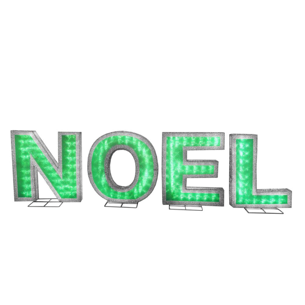 18.5 in. NOEL Sign with LED Lights