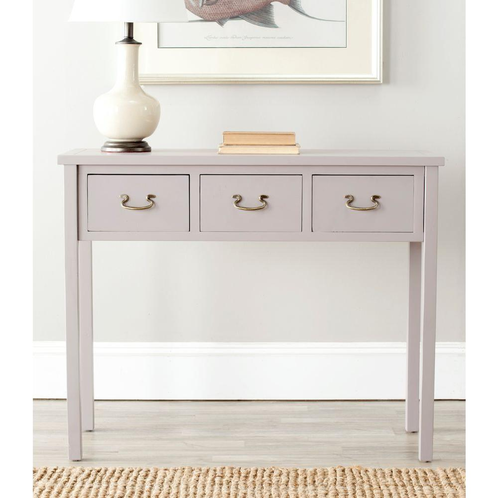 Safavieh Cindy Grey Storage Console Table