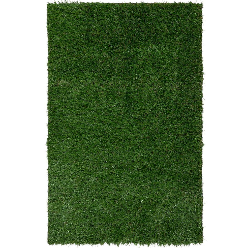 Ottomanson Garden Grass Collection Artificial Grass Synthetic Lawn ...